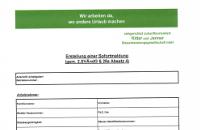Bild Personalfragebogen Sofortmeldung